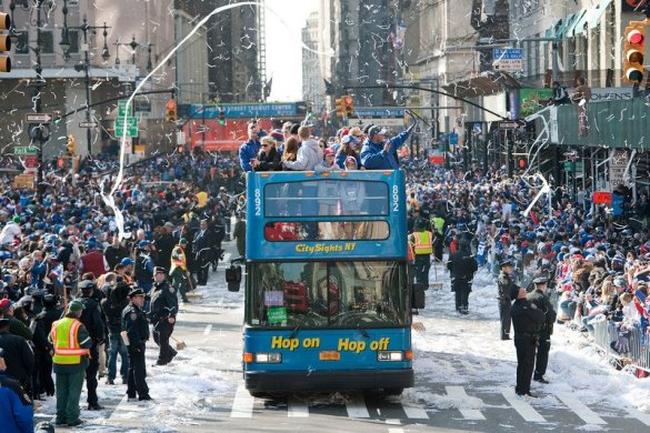 The Giants won the Super Bowl in 2012!