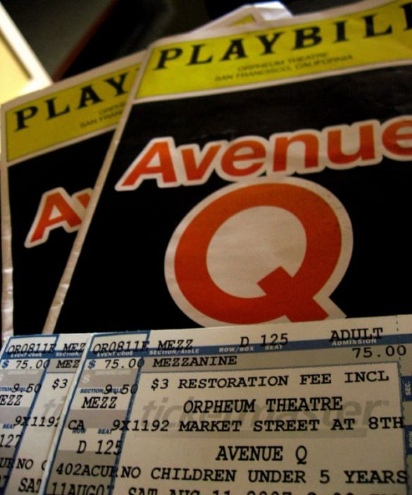 off broadway week, avenue q