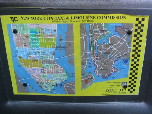 nyc taxi map