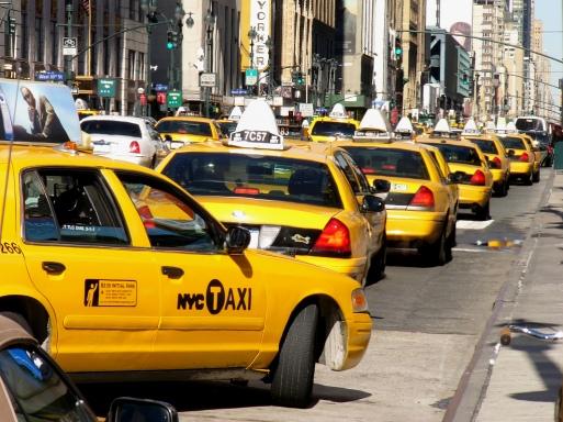 nyc gridlock taxi